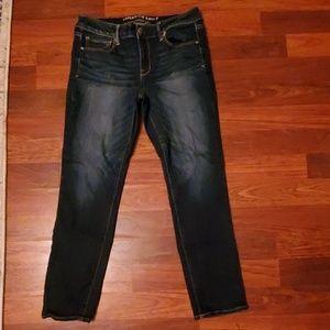 AE Super Stretch Skinny Jeans 10S